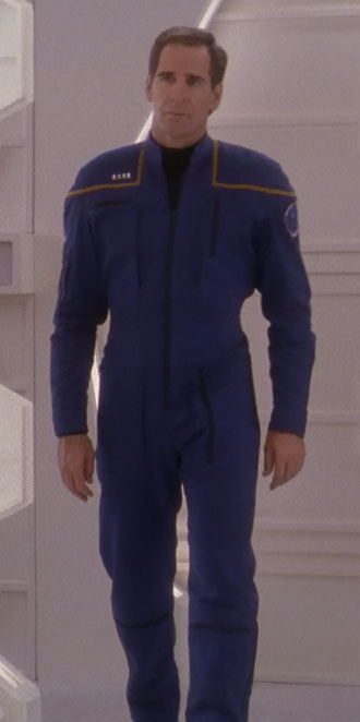 Command division uniform, 2152  Fair Use  - this image is copyrighted, but used here under  Fair Use  guidelines. Owner/Creator: Paramount Pictures and/or CBS Studios  Captain Jonathan Archer  Retreived via http://memory-alpha.wikia.com