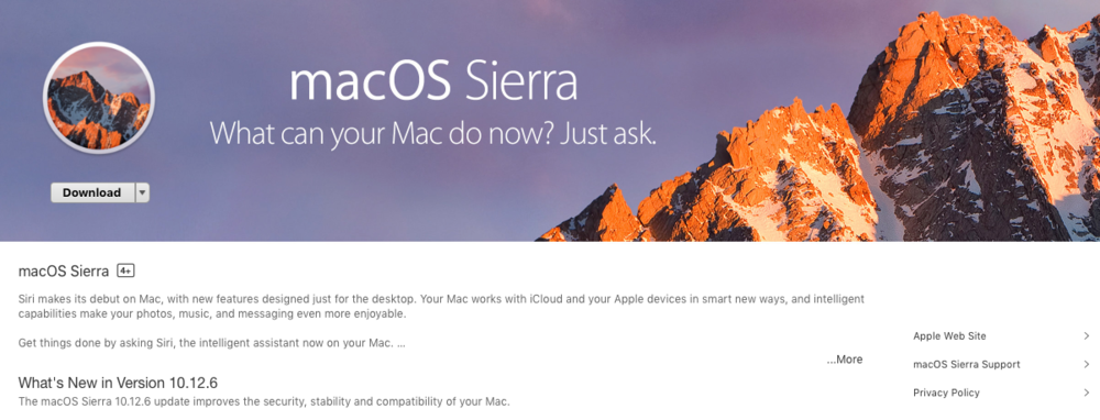 Sierra Update