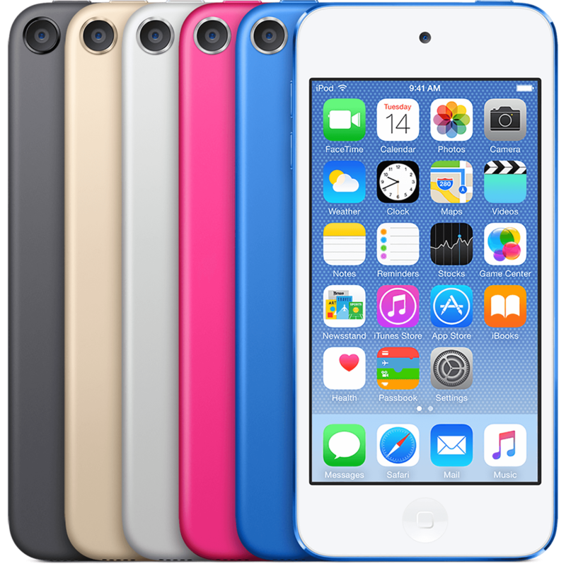 iPod Touch Lineup