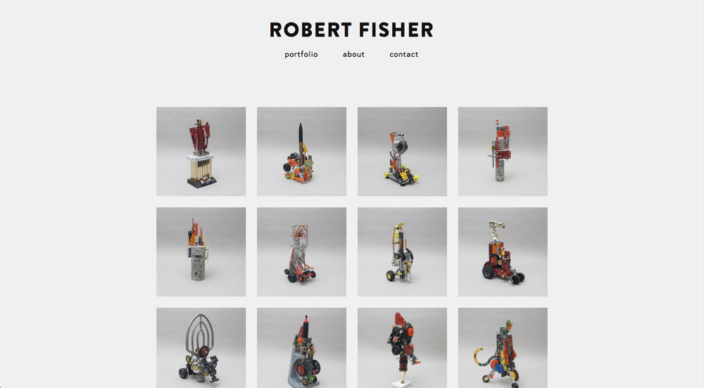 This customized Squarespace portfolio website shows the work of Victoria, BC, based artist, Robert Fisher. Read more...