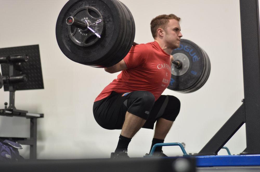 The Low Bar Back Squat