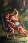 Lutte De Jacob Avec L'ange-1