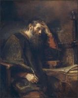 Apostle Paul-Rembrandt