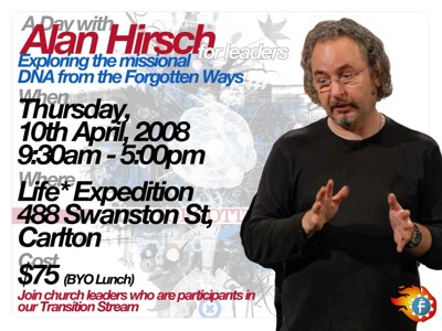 Day With Alan Hirsch April 10