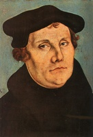 Martin Luther By Lucas Cranach Der A Ltere