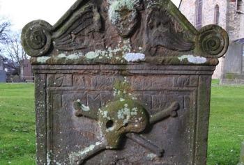 Skull Gravestone 700x475