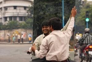 Indian mirror motorbike
