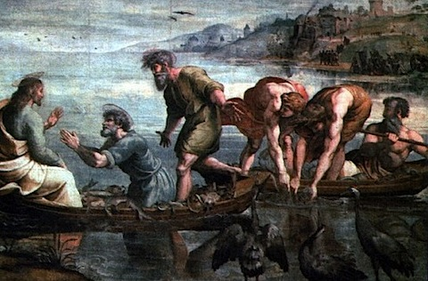 Catch of Fishes-Raffael Sanzio 1515.jpg