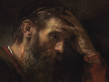 Rembrandt - The Apostle Paul - Detail face.jpg