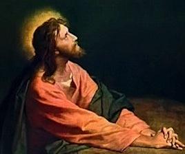 Christ in Garden Gethsemane, Heinrich Hofmann 1890