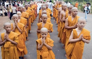 Cambodian Buddhist monks