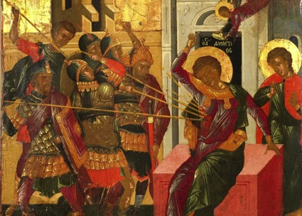 Martyrdom of St Demetrios