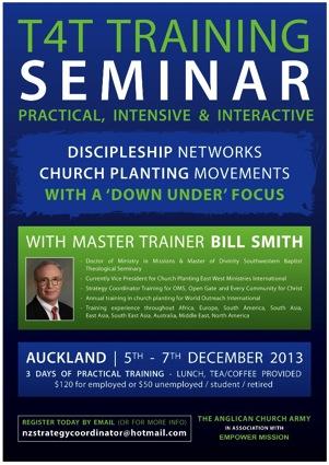 Bill Smith T4T Seminar AKL
