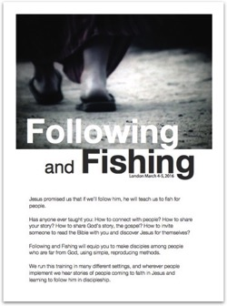Following Fishing front page