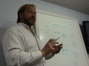 Jeff Sundell teaching