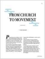 Church to movement cover