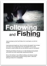 Following Fishing NE London