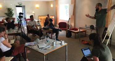Ray Vaughn training in the UK