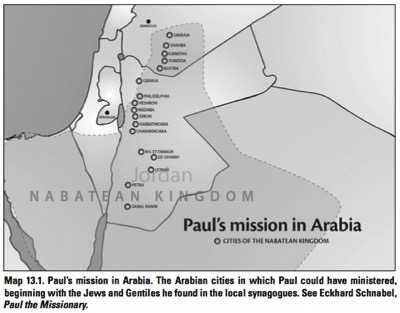 Paul in Arabia - What Jesus Started, p117.