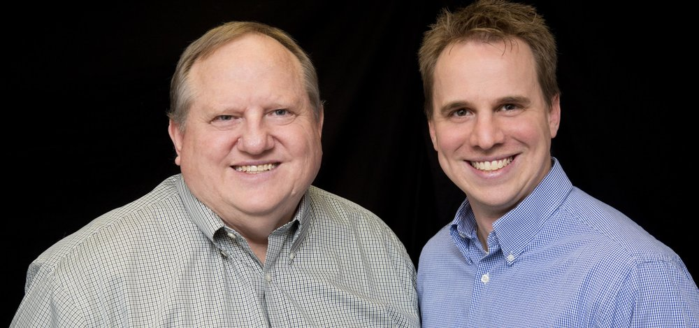 Co-authors David and Paul Watson