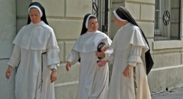 Disappearing nuns