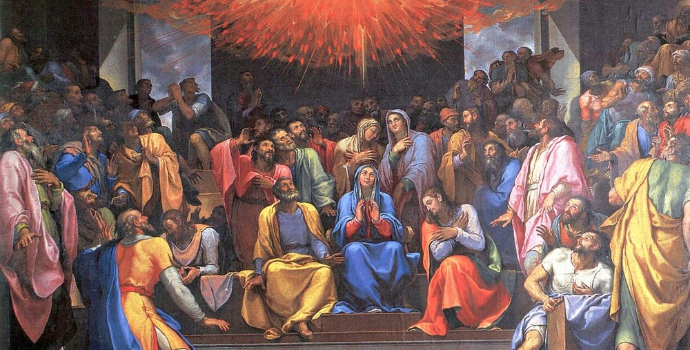 Girolamo Muziano, The Pentecost, 16th century
