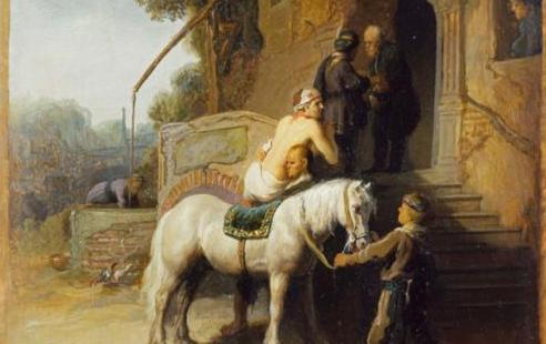 Good Samaritan by Rembrandt (1630)