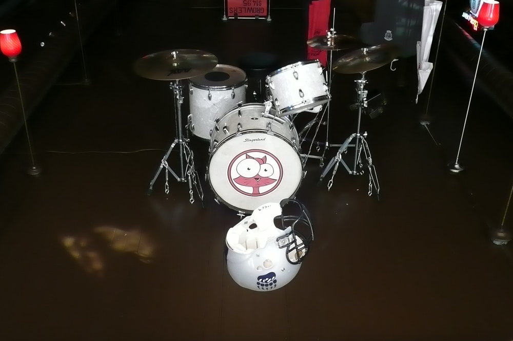 Cathouse Pizza Drums