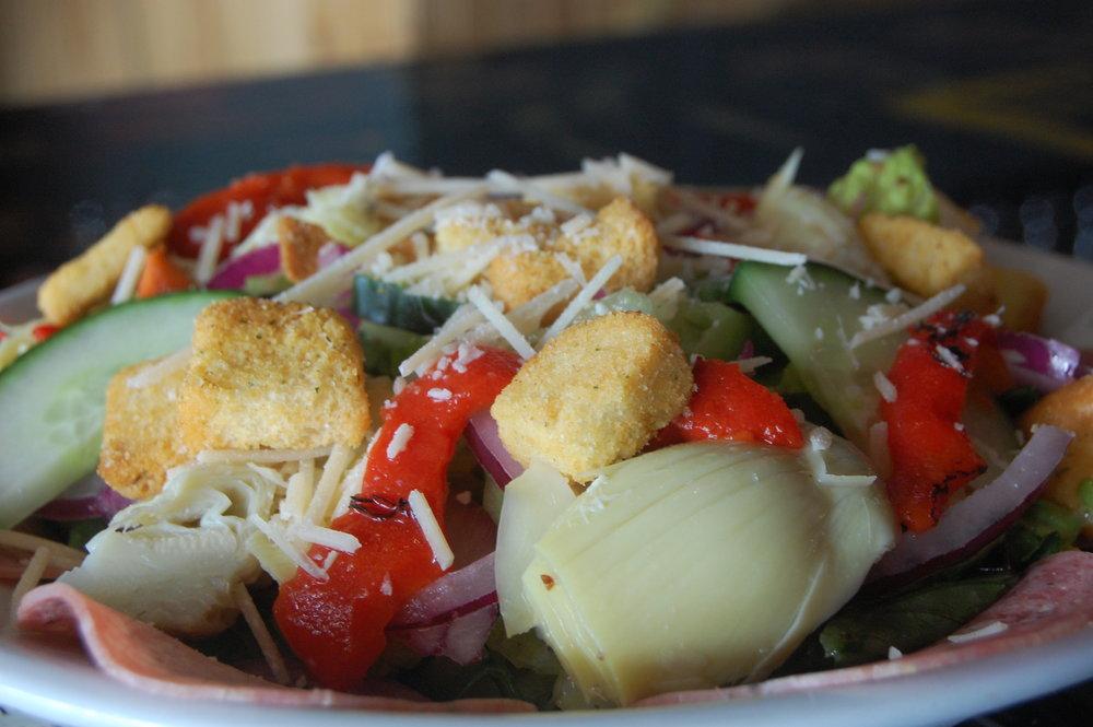 Cathouse Pizza Salad