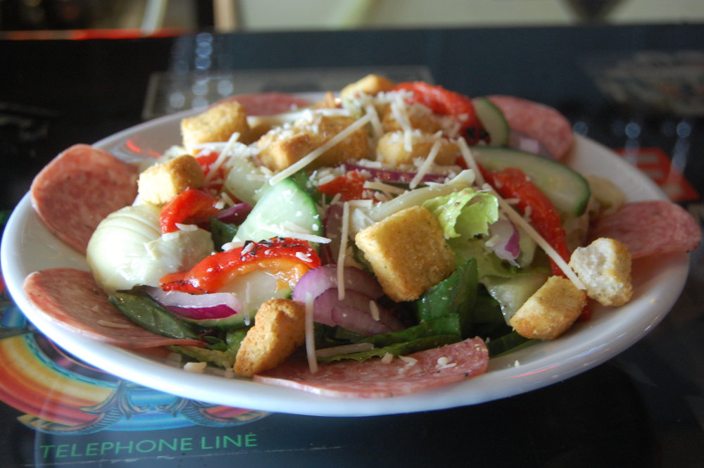 Cathouse Pizza Salad 4