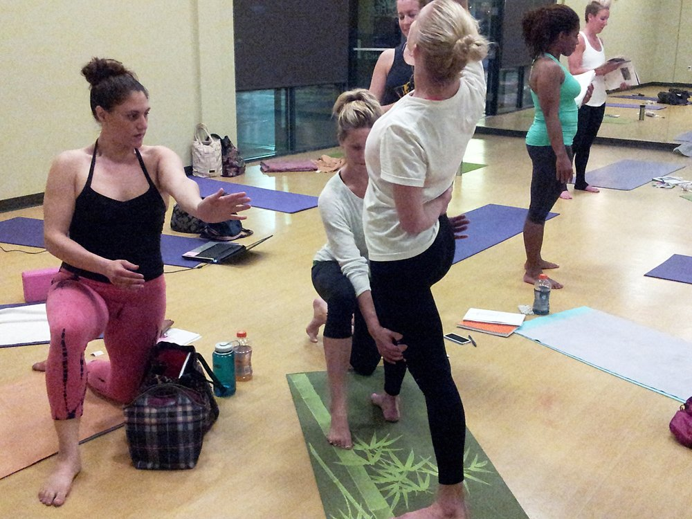 What is the schedule like?  - Instructional sessions meet from 8:00am-6:00pm.  Each session begins with chanting, meditation, and reflective journaling process.  Students will also participate in themed asana yoga practices for 2.5 hours.  After practice, there is a 2-hour break from 12-2pm for students to shower, eat, and prepare for afternoon session.  Lecture topics will cover the guidelines outlined by the Yoga Alliance Standards for 200-Hour & 300-Hour Professional Yoga Teacher Trainings. Additional requirements to be met during the week include mentor and study group/partner meetings, assisting, observing, and practicing in classes led by teacher training mentors and assistants throughout the week, and completing extracurricular (OM)Work Assignments to supplement instructional themes. The Fall Program is a build-your-own schedule commitment.