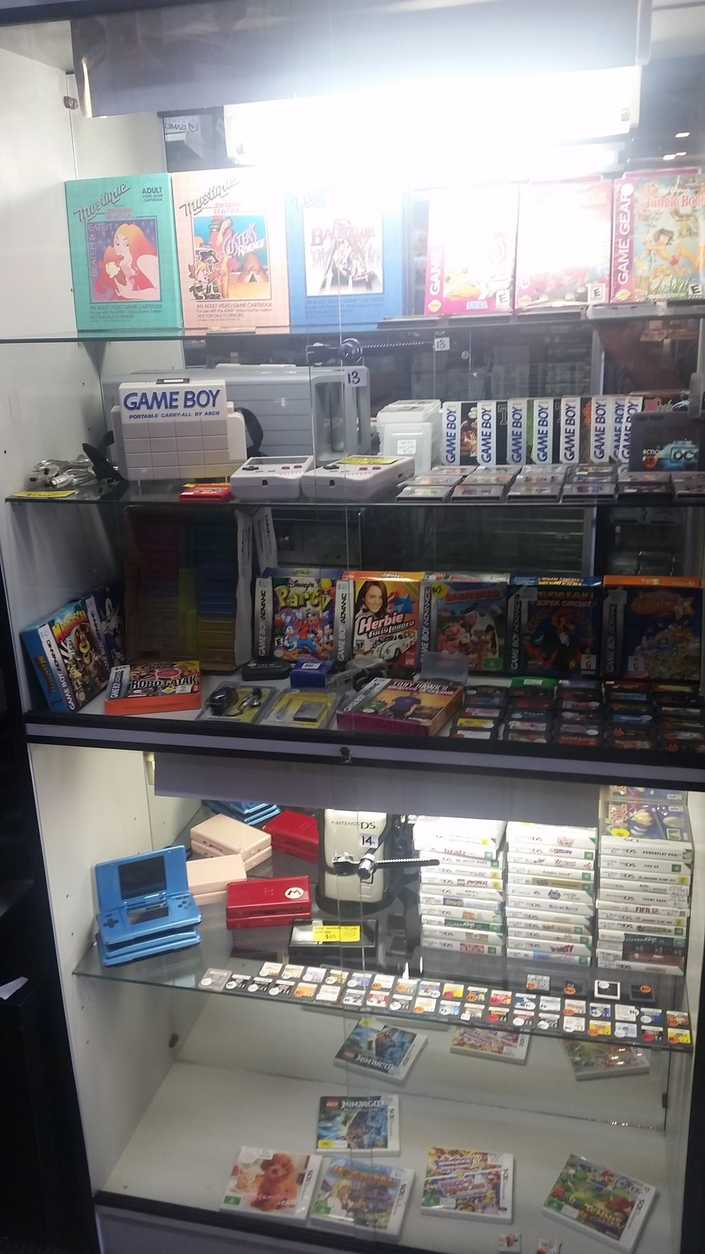 GAMEBOY CONSOLES AND GAMES ALSO AVAILABLE AS WELL AS NINTENDO DS AND 3DS GAMES ...