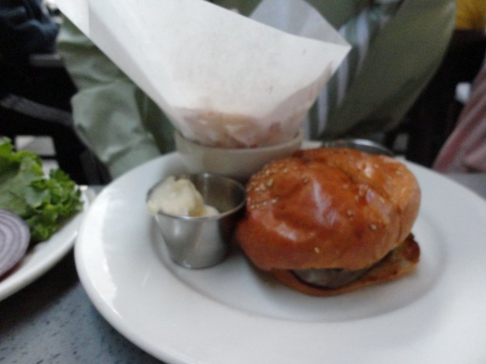 """The """"Little Hollywood"""" Filet Mignon Sandwhich"""