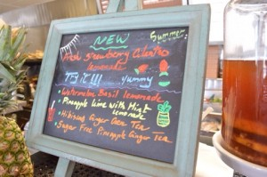 Handcrafted Drinks Menu