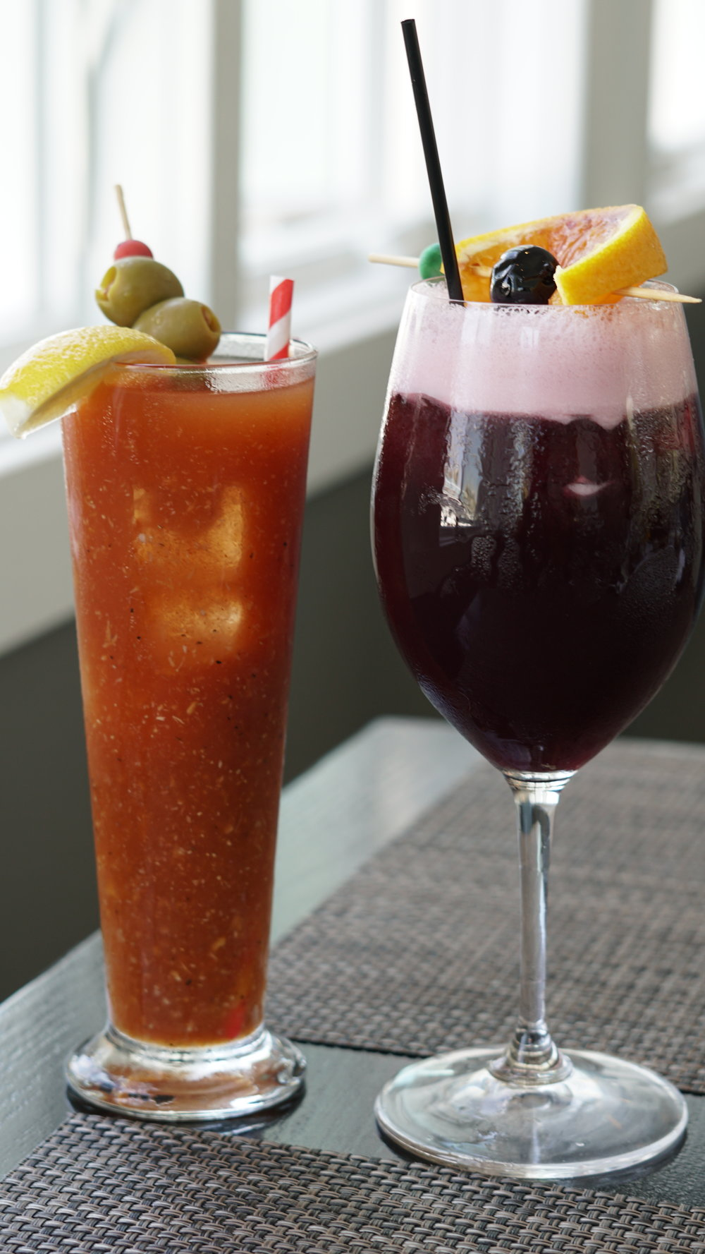Bloody Mary and Sangria