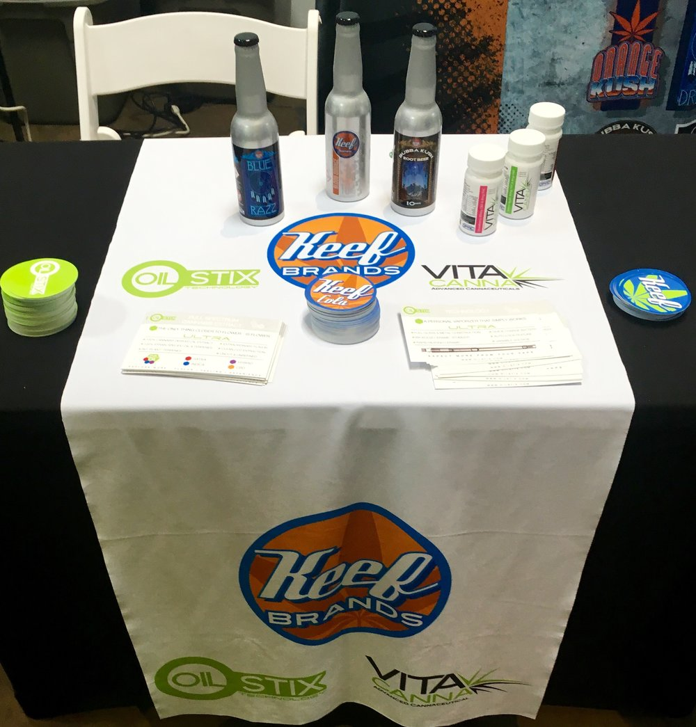 Thanks again to our sponsor Keef Sparkling and VitaCanna!