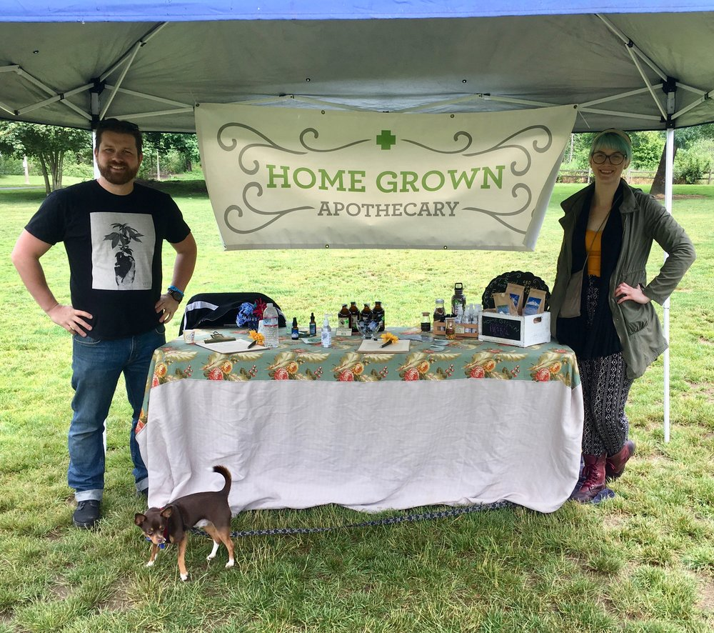We met some fans at Home Grown Apothecary! Thank you so much for all of your support! Home Grown Apothecary offers the best in cannabis, cannabis infused products, and immature plants. Also, with a large selection of non-cannabis herbs there are many options available for patients.