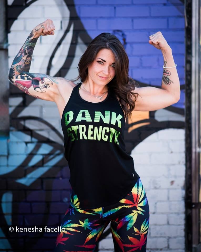 Jennessa Lea Jennessa is the CEO of Break the Stigma Fitness. She is the also the creator the Fit Cannabis Girl brand which offers cannabis themed gym apparel. She has lost over 100lbs, and taken control of her EDS, allowing her to live a life free of opiods, all by incorporating cannabis as part of a healthy and active lifestyle. She is a proud mother, and serves as a role model for people everywhere consistently proving cannabis doesn't make you lazy, and motivating others to take charge of their life for the better.  Instagram Facebook Website