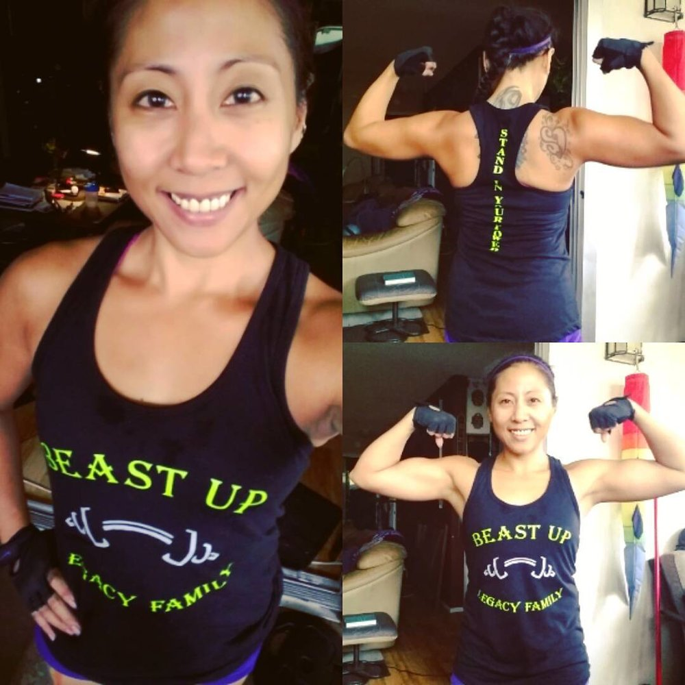 May Ann Valledor Born and raised in Southern California, I am a 37 year old Nurse, an ACE Certified Personal Trainer, Beachbody Coach, American Cannabis Nurse, Humanist and a believer and preacher of Happiness, Moderation and Balance.  Long time user of Cannabis, I self-medicated to help with my anxiety, slight depression, insomnia. In conjunction with daily exercise, I use Cannabis as a part of my healthier lifestyle. It helps with the symptoms mentioned earlier as well as helping me focus, provides inflammation and sore muscle relief and aids greatly in my recovery methods.  From smoking a pack a cigarettes for 15 years to being lazy and never getting outside to now being smoke free for 4 years and counting, a craving for movement and exploring outside. I own a beach cruiser and now a mountain bike, I enjoy camping, hiking, riding and being in nature. I love working out daily, challenging myself and seeing what my body can do. I started out as a Bodyweight cardio junkie to a lover of weights and I've never step foot in a gym!!  Let Cannabis aid in your healthier life and love living a life full of joy, laughter and adventure!!  Facebook Instagram email:  lilmsmayshine@gmail.com