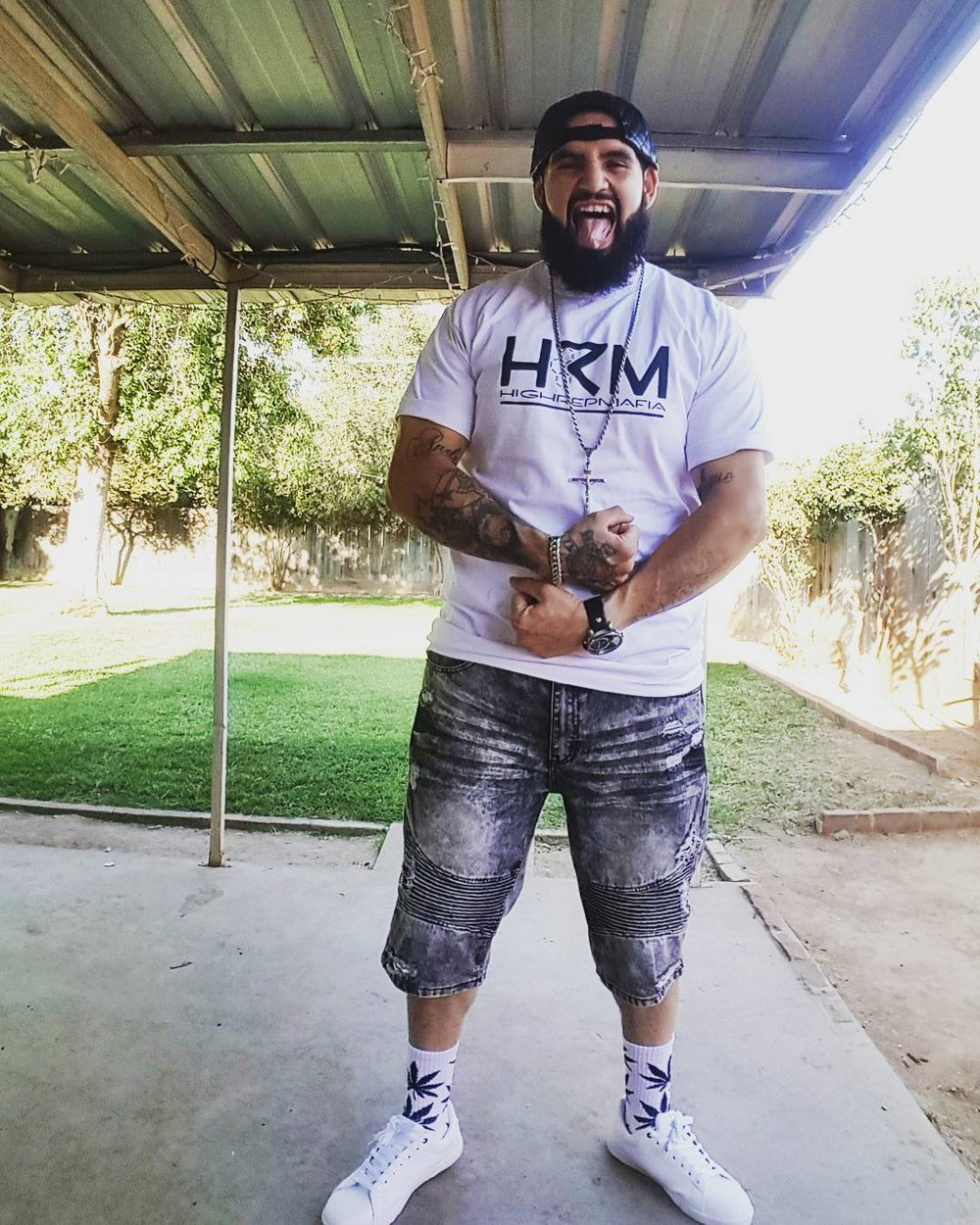 Jose Lopez Jose Lopez utilized the benefits of cannabis to help him loose over 100 lbs! He is also the founder of High Rep Mafia. HRM is a clothing line and inspirational brand promoting cannabis as part of a healthy and active lifestyle. The HRM is a brand of positivity, support, and encouragement!  Instagram  Website