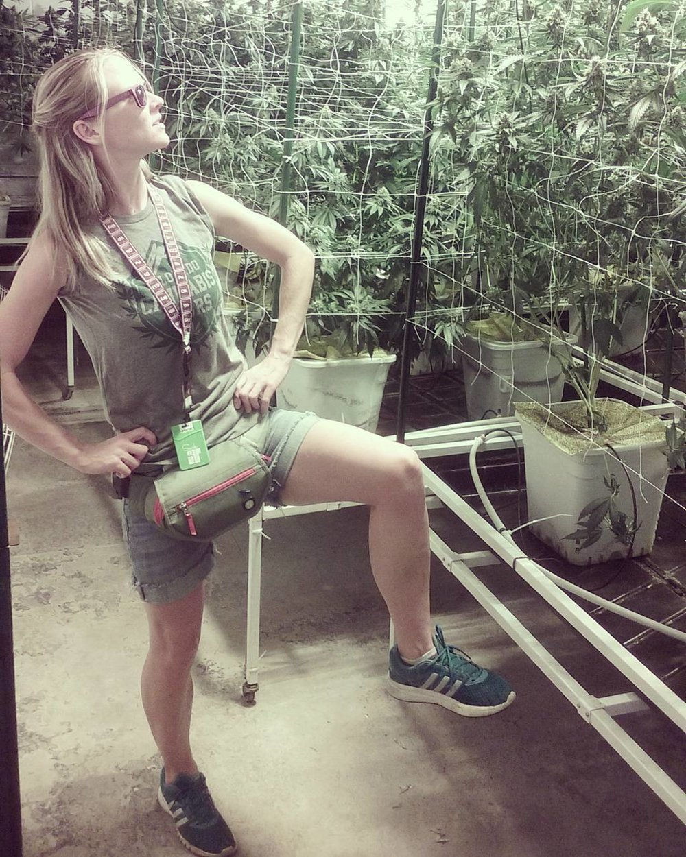 Lia Arntsen   Lia is a cannabis fitness coach, educator, and entrepreneur.Besides running her  Huff N Puff Fitness Classes ,  Lia  also runs  You Canna Be Well,  and sells her own cannabis flights at  First Class Flights . She recently completed her first full marathon in 2017, and has competed in every Colorado 420 Games!