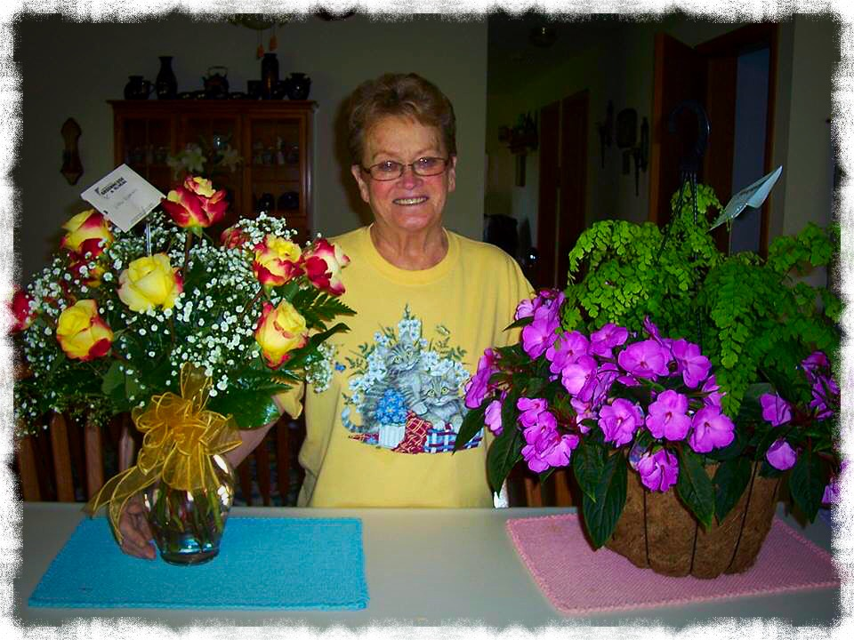 Mom, age 72, Mother's Day
