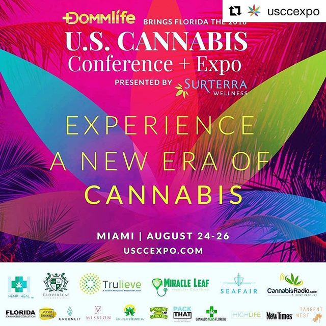 Here's your chance to win FREE TICKETS to the upcoming @usccexpo in Miami where @mjfitnut's CEO @heatherderoseofficial and COO @antonioderoseofficial will be speaking about epilepsy, cannabis, and fitness! Check te @usccexpo page and follow the instructions below on their original post for your chance to win! . . . . Repost @usccexpo with @get_repost ・・・ 🚨USCC PASS GIVEAWAY🚨 Win a 2 x passes to the #USCCEXPO in Miami Aug 25-26.  Here's how: - Tag 3 friends on this post. - Repost this flyer on your feed. - Tag @USCCExpo & @dsedgwick_420 on your post.  Winner picked Aug 20th 🏝See you in Miami! . . . . . . #florida #orlando #lovefl #floridalife #tampa #miamibeach #roamflorida #southflorida #pureflorida #sunshinestate #visitflorida #southbeach #saltlife #fl #miamilife #soflo #fitness #athlete #sports #health #wellness #personaltrainer #cannabis #weed #marijuana #cannabiscommunity #cannabisculture