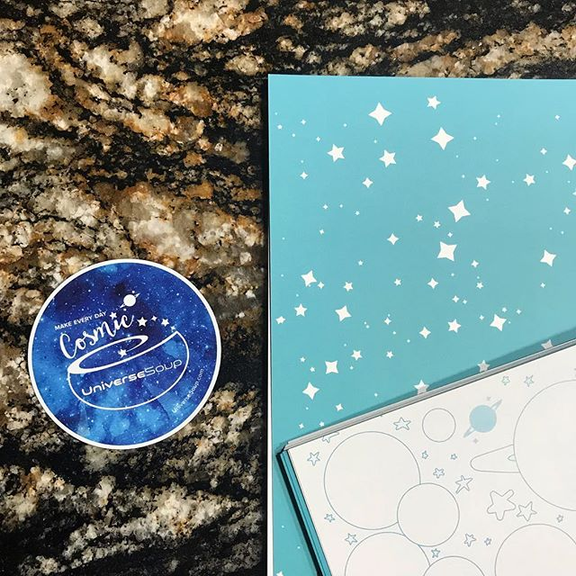 ✨Sneak Peek✨ I'm creating a new journal/notebook. More details soon, but the cover will be blue and star-filled 💖 #UniverseSoup #MakeEveryDayCosmic #stars #journal #notebook ✨⭐️🌜