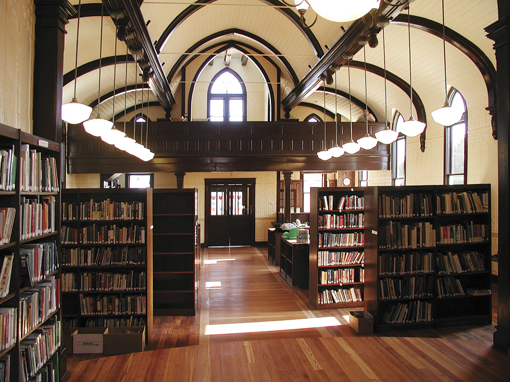 Round Top Family Library