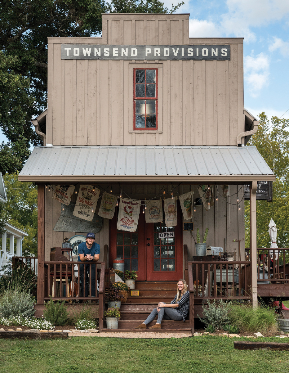 Townsend provisions owners have a passion for old relics and handmade goods. Photo courtesy of Townsend Provisions