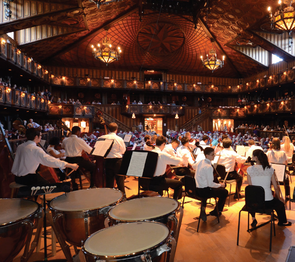 Festive Hill concert Hall is a 210-acre campus containing multiple performance facilities. Photo courtesy of Festive Hill Concert Hall