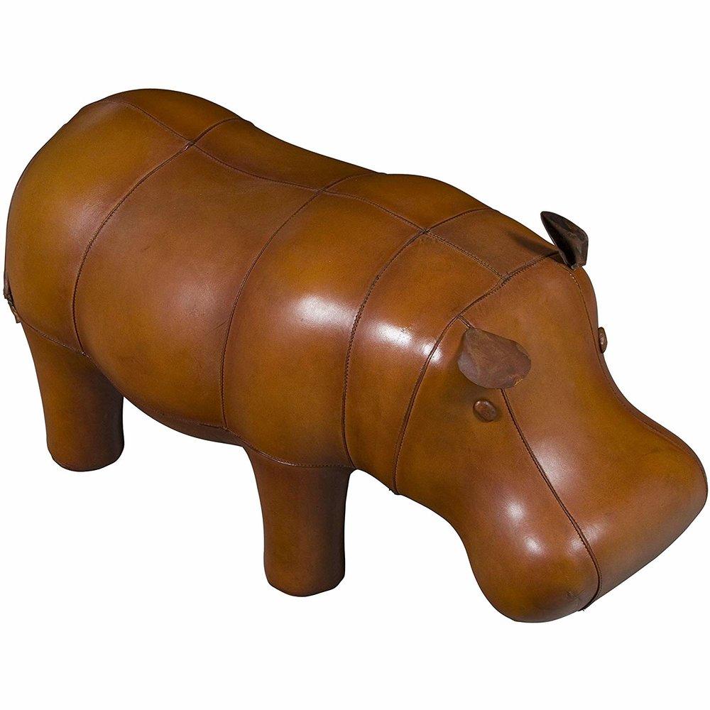 Leather Hippo Footstool.jpg