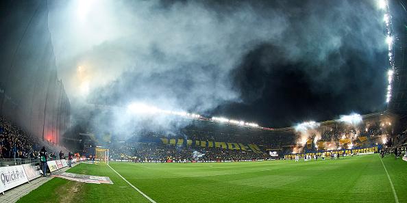 Brøndby Stadion. Foto: Getty Images/Lars Rønbøg