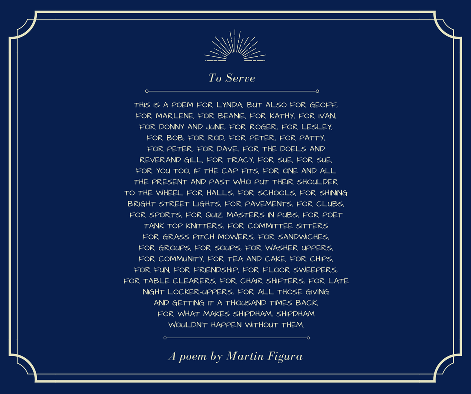 A poem by Martin Figura
